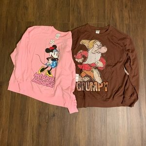 Oversized Disney sweaters!
